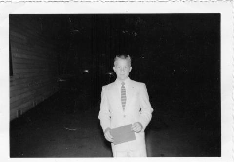 Duane Nelson: 1956 8th grade Graduation